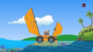 Transformer Under Water Vehicle  Vehicle For Kids Cartoon About Cars For Kids
