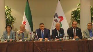 أخبار عربية   إجتماع #المعارضة السورية لبحث تنسيق وفد موحد