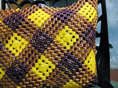 Diamond shape Biscuit knot with Normal knot wire basket - part - 1/2