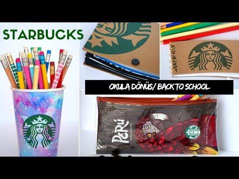 Starbucks ile OKULA DÖNÜŞ / BACK TO SCHOOL