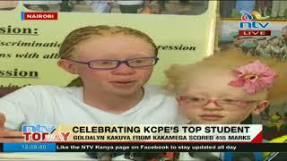 Top KCPE candidate, Goldalyn Kakuya's full speech