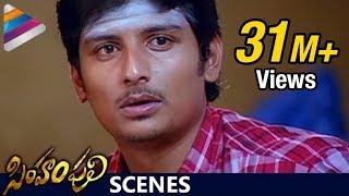 Jiiva Flirts with Aunty | Simham Puli Movie Scenes | Divya Spandana | Mani Sharma | Telugu Filmnagar