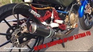 Review Sound Scorpion RP1GP Exhaust Suzuki Satria FU 150 - Knalpot Racing [Ninja 250 FI]