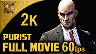 Hitman: Absolution (PC) I Full Movie I Purist Walkthrough (Suit Only, Evidences) [1440p 60fps]