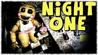 WAY HARDER! Night 1 - Five Nights At Freddy's 2