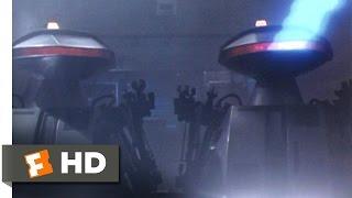 Chopping Mall (4/9) Movie CLIP - Killbots Attack (1986) HD