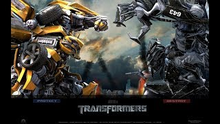 Bumblebee vs Barricade 2007