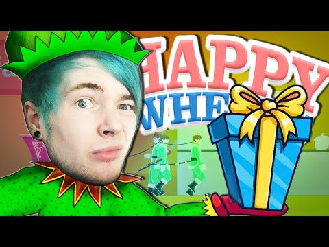 Happy Wheels | CHRISTMAS LEVELS!!
