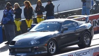Jessica Barton's Stolen Supra - LAST RACE EVER? - New Best!