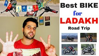 Best Motorcycle For your Leh-Ladakh Trip ? | Top 7 Bikes for Ladakh Road Trip | 2018
