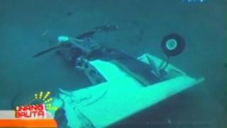 UB: Tindi ng pinsalang tinamo ng eroplano nakunan ng underwater video