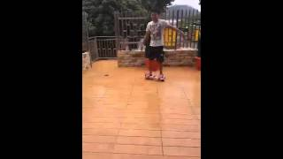 Pinoy's Funniest Videos: My brother using hoverboard hahahah