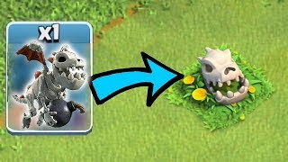 HOW DID THIS HAPPEN!?! | Clash of clans | BABY DRAGON SKULL THEORY