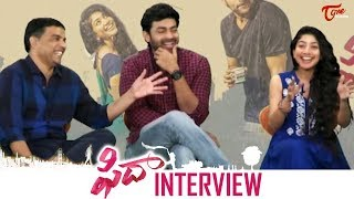 Fidaa Movie Team Hilarious Interview   Varun Tej   Sai Pallavi