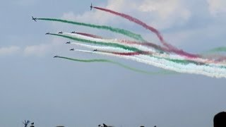 Frecce Tricolori Russian Air Force 100th Anniversary Air Show 2012