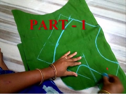 LATEST SIMPLE  BLOUSE CUTTING AND STITCHING  PART-1
