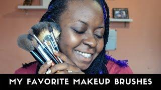 My Ride or Die Makeup Brushes | Favorite Makeup Brushes | OmogeMuRa
