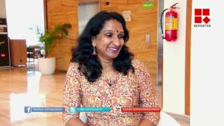 Manju warrior share her experience from the movie 'care of saira banu' to reporter │Reporter Live