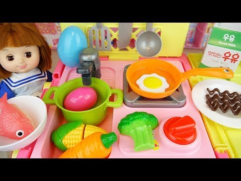 Xxx Mp4 Baby Doli And Cart Kitchen Car Toy Baby Doll Food And Surprise Eggs Play 3gp Sex