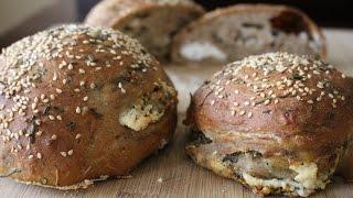 Whole Wheat Feta Bread a.k.a Greek Tiropsomo