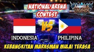 Kebangkitan Marksman MM Mulai Terasa Indonesia vs Philipina National Arena Contest 17112017