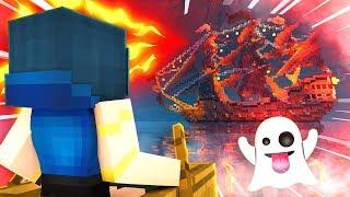 WE FOUND A HAUNTED GHOST SHIP! | Krewcraft Minecraft Survival | Episode 17