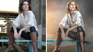 Dreamy Light Mood | Photoshop Manipulation & Photo Effects Tutorial