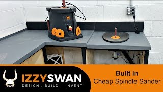 Cheapest Spindle Sander On Amazon | Modified