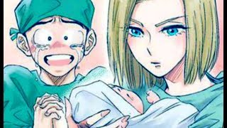 Android 18 Gives Birth To Marron