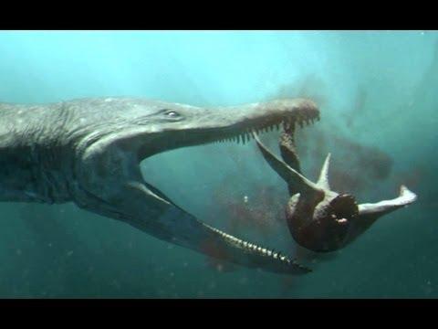 Predator X hunts in deep water Planet Dinosaur BBC