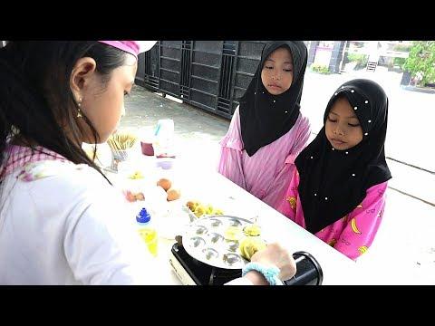 What If Jessica Jenica Jadi Penjual Pentol Goreng Telur 💖 Serunya jualan kali ini !!! Mainan Anak