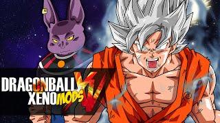 BATTLE OF GODS! SSJ White Goku VS Nappa | Dragon Ball XenoVerse RANDOM MODS