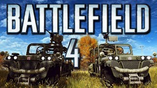 Battlefield 4 Funny Moments! - Death Racing and Crazy Fun! (Funtage!)