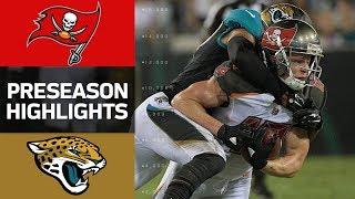 Buccaneers vs. Jaguars   NFL Preseason Week 2 Game Highlights