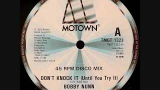 Bobby Nunn - Don't Knock It (Until You Try It)