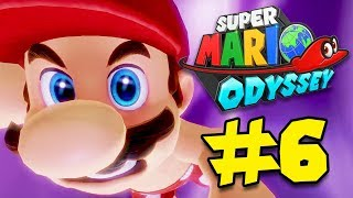 WERE OFF To SWIM in the Lake Kingdom!!! - [Super Mario Odyssey Walkthrough #6]