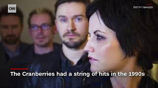 NEWS UPDATE  Cranberries singer Dolores O