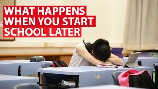 What Happens When You Start School Later | CNA Insider