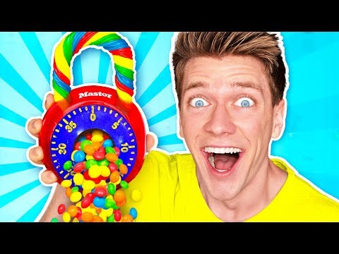 Making School Supplies out of Candy Learn How To Diy Back To School Edible Food Challenge Prank