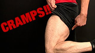 Hamstring Muscle Cramps (WEAK GLUTES!)