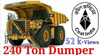 SECL Gevra Project 240 tonns dumper riding