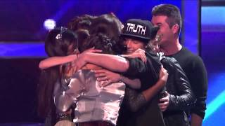 Fifth Harmony Make the Finals! The X Factor Semi-Final Results