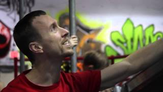 UE Parkour Instructor: Rob Hoover's American Ninja Warrior 2013 Submission Video