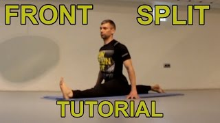 How to do the front splits FAST
