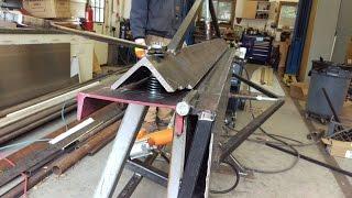 DIY Aluminum / Sheet Metal Brake Air/Hydraulic