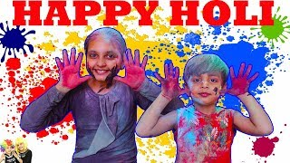 Holi Celebration 2018    Colors for Kids    HOLI CARTOON SONG