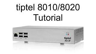 tiptel 8010 - Telekom MSN Anschluss einrichten