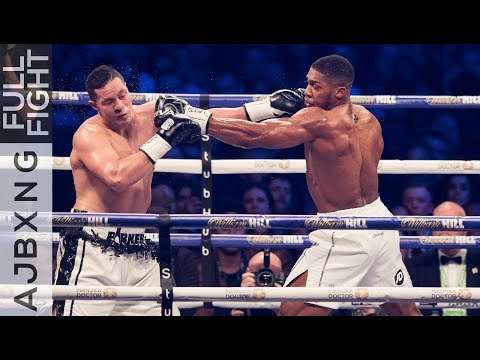 Full Fight Anthony Joshua Vs Joseph Parker UD