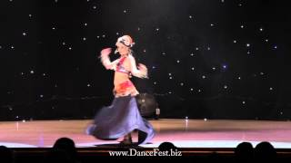Maria Fomina - Dance Fest in Moscow 2013
