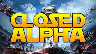 Star Wars Battlefront: CLOSED ALPHA!